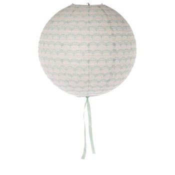 Lampion leaf white